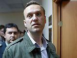 Nicht genehmigte Demo: Kremlkritiker Nawalny zu Arrest verurteilt