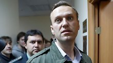 Festnahmen politisch motiviert: Russland muss Nawalny entschädigen