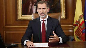 Nach Votum zur Loslösung: König Felipe macht Katalonien scharfe Vorwürfe