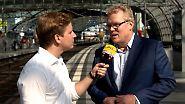 """Startup News: Dirk Flege, Allianz pro Schiene: """"Wettbewerb ist unfair"""""""