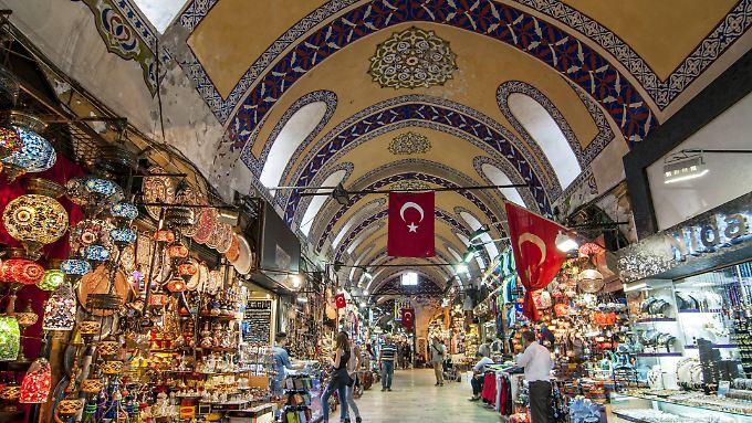 """Großer Basar"" in Istanbul."