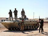 Syrische Regierungssoldaten in Hama (Archivbild).