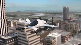 Erste Flüge ab 2021: Boeing kauft Flugtaxi-Entwickler Aurora