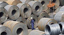 Abwehr von Dumpingpreisen: EU verhängt Strafzölle für Billig-Stahl