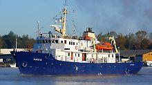 """Die """"C-Star"""" hieß früher """"Suunta"""" und fährt unter mongolischer Flagge."""