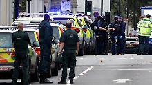 Vorfall in London war Unfall: Auto fährt Fußgänger auf Bürgersteig an
