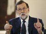 Zur Not Autonomie-Aberkennung: Rajoy weicht keinen Zentimeter zurück