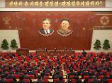 "Nordkoreas Atomwaffenprogramm: Kim lobt ""mächtige Abschreckung"""