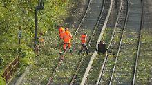 """Deutsche Bahn nach """"Xavier"""": Zugverkehr auf dem Weg zum Normalzustand"""