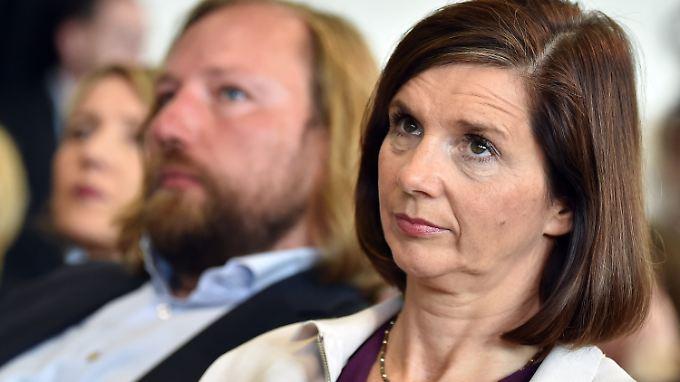 Grünen-Fraktionschefin Katrin Göring-Eckardt hält nicht viel vom Kompromiss der Unionsparteien.