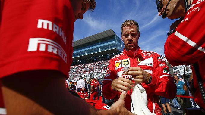 Sebastian Vettel warnt sein Team, nach dem Einbruch nicht alles in Frage zu stellen.