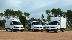 Das Unternehmen wird einen Pool von Fahrzeugen mit Aufbaulösungen vorrätig halten.