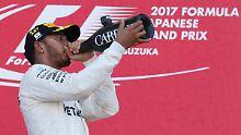 """""""Der unanfechtbare Triumph von Hamilton in Suzuka und die Aufgabe von Vettel haben die WM praktisch entschieden."""""""