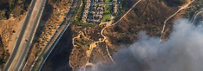 Bis ins 100 Kilometer entfernte San Francisco ist der schmutzige Rauch zu sehen und zu riechen.