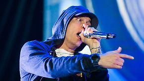 Promi-News des Tages: Eminem lässt seiner Wut auf Trump freien Lauf