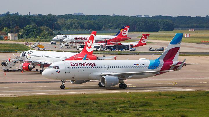 Der Kampf um das Erbe von Air Berlin ist eröffnet. Eurowings scheint schon gewappnet zu sein.
