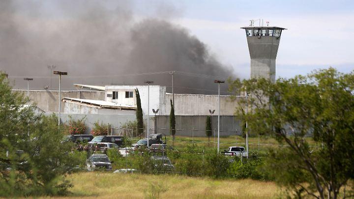 Die Polizei musste das Gefängnis in Cadereyta stürmen.