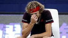 Der Sport-Tag: Wütender Zverev verliert gegen Del Potro
