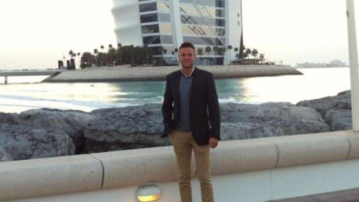 Jamie Harron ist nicht zum ersten Mal in Dubai, er kennt die Gepflogenheiten des Landes.