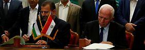 Abkommen für Einheitsregierung: Hamas und Fatah versöhnen sich