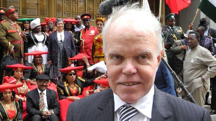 Anwalt Kenneth McCallion bedauert, dass Deutschland noch keinen Vertreter für das Verfahren bestimmt hat.