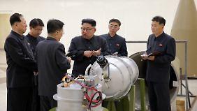 Trotz verschärfter Sanktionen ist Nordkoreas Machthaber Kim Jong Un bisher nicht bereit, das Atomprogramm einzustellen.