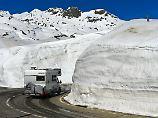 Mit Schaufel und Propangas: Das muss man beim Wintercamping beachten