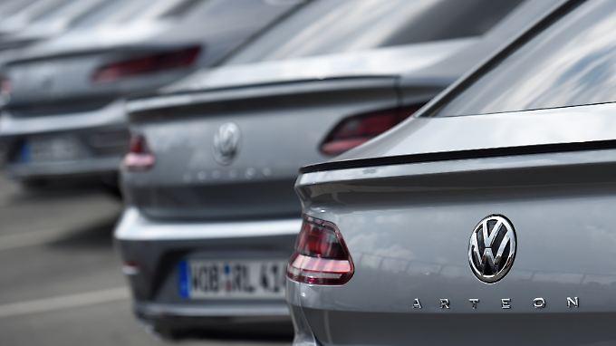 Mehr als eine Million Fahrzeuge brachte Volkswagen im September an die Kunden.