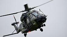 Schleifspuren im Triebwerk: NH90-Hubschrauber bereitet Probleme