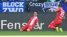 Führung ausgebaut: Fortuna Düsseldorf träumt weiterhin von Liga eins.