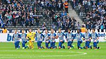 Der Sport-Tag: Hertha unterstützt US-Stars im Kampf gegen Rassismus