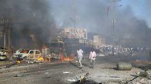 Explosion erschüttert Mogadischu: Mehr als 50 Menschen bei Anschlag getötet