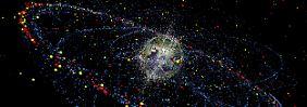 Müll schneller als Gewehrkugeln: Gestra soll Unfälle im Weltraum verhindern
