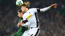 Lufthoheit, Spielhoheit und Sieg: Borussia Mönchengladbach feiert gegen Werder Bremen einen ungefährdeten Sieg.