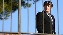 Im Käfig der Entscheidungen - Carles Puigdemont erlebt komplizierte Tage.