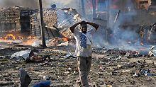 Dreitägige Staatstrauer: Todeszahl in Mogadischu steigt auf 276