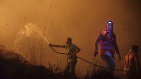 Walbrände in Spanien und Portugal: Behörden rufen Bevölkerung auf, selbst zu löschen