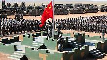 """Interview zu Chinas Außenpolitik: """"Es gibt einen Wechsel der Militärdoktrin"""""""