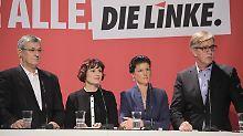Machtkampf bei der Linken: Wagenknecht und Bartsch bleiben