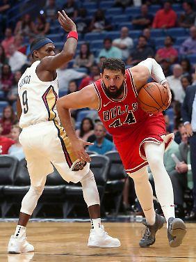 Ungeschickter Heißsporn: Nikola Mirotic von den Chicago Bulls.