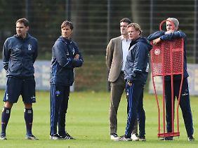 Markus Gisdol zeigte beim HSV-Training Herz für einen enttäuschten Fan.