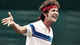 """Es heißt, McEnroe wäre sehr einverstanden mit LaBeouf in seiner Rolle: """"Wir sind beide verrückt"""":"""
