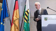 Nach Desaster bei Bundestagswahl: Tillichs Rücktritt erwischt Sachsen kalt