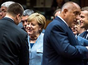 Es gibt viel Gesprächsstoff für Merkel und Co.