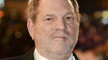 Missbrauchsvorwürfe: US-Polizei ermittelt gegen Harvey Weinstein