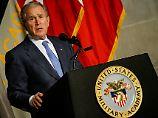 Rede des Ex-Präsidenten: George W. Bush rechnet mit Trump ab