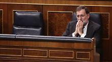 Region vor Entmachtung?: Rajoy plant Neuwahlen in Katalonien