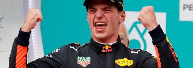 Jungstar bleibt bei F1-Rennstall: Verstappen macht Red Bull zum WM-Jäger