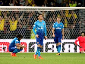 Mesut Özil kann die Gerüchte über seinen möglichen Abgang vom FC Arsenal nicht mehr hören.