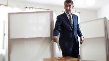 """Rechtsruck bei Parlamentswahlen: """"Tschechischer Trump"""" liegt vorn"""